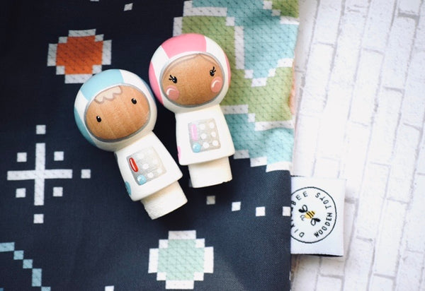 Astronauts Team - Set of 2