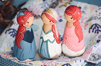 Ariel in Blue Dress, Wedding Dress or Pink Dress