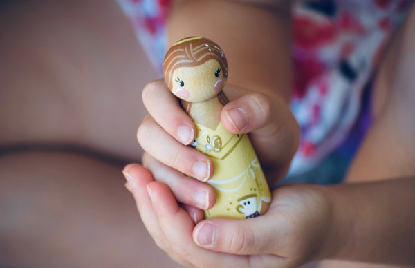 Belle Tall Peg Doll