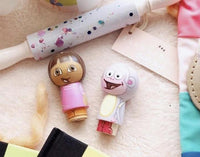 Dora and Boots Kokeshi Peg Doll Set
