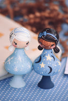 Special Edition CLICQUES- Moon, Stars & Snow - Customer Design