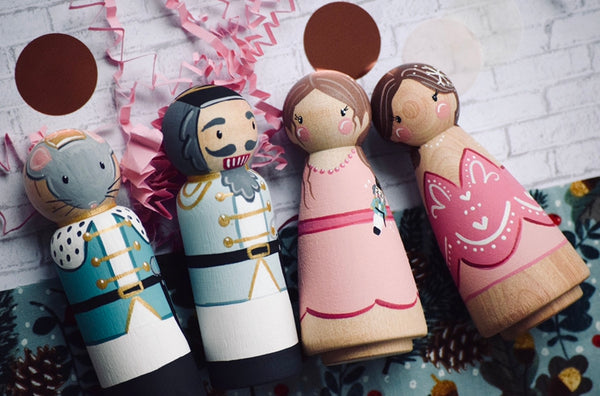 Nutcracker Ballet - Set of 4