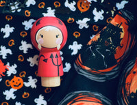 Any 2 Halloween Kokeshi Dolls / excludes characters