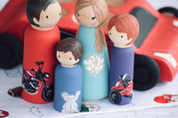 Extra Detail for Peg Dolls - Kids Toy, Flowers etc