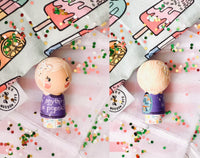 Any 1 Custom Kokeshi Family Doll