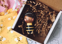 Queen Bee - 1 Kokeshi Doll