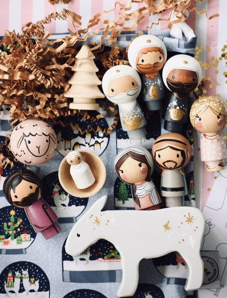 11 Piece Christmas Nativity Set (2019 design)