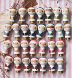 Custom Santa - Specify Suit, Nose and Skin Color || Pine Cone or Candy Cane