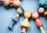 5 Sets of CLICQUES - 10 Dolls - Dixie & Bee Collections