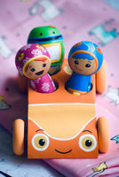 Team Umizoomi PlaySet - Car & 3 Dolls