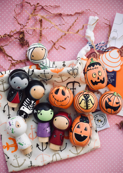 1 Doll & 1 Pumpkin Set - Gift Set
