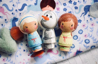 Frozen Playset - Little Anna, Elsa & Olaf