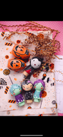 Ghoul Gang - 3 Halloween Dollies: 2 Zombies & 1 Bat