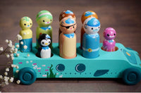 Octonauts Set - Bus with 8 Characters