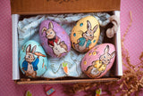 4 Custom Easter Eggs