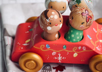 4 Seater Christmas Car Only - Dolls seperate