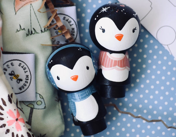 Little Christmas Penguins