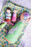 Rapunzel Tower Play Set of 4