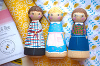 Any 1 Tall Custom Peg Doll || your pick