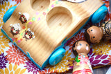 Moana Playset with Wooden Car
