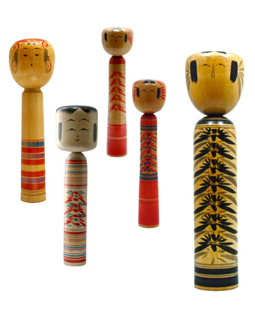 Japanese Traditional Kokeshi | Zao-Kei (Family)