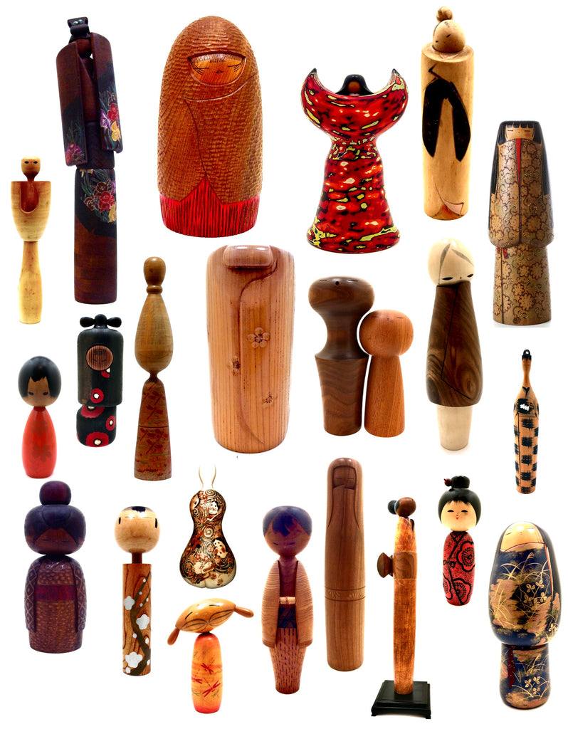 Japanese Kokeshi Doll Styles and Carving Techniques