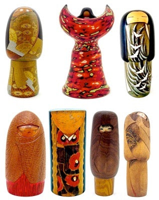 Vintage Sosaku Kokeshi Artists