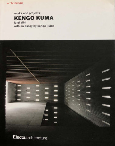Kengo Kuma | Electaarchitecture book on architecture