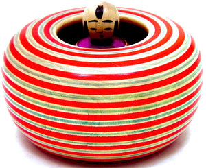 Ejiko Baby Spinning Top in simulated basket | Sato, Fumio | 1923