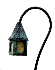 Contemporary Mini Japanese Bronze Lanterns | Zen Garden and Atrium Accent Lighting