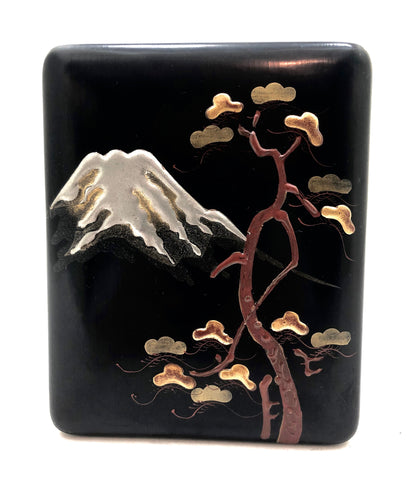 Vintage Small Japanese Lacquer Kobako Incense Storage Box | 1912-1926