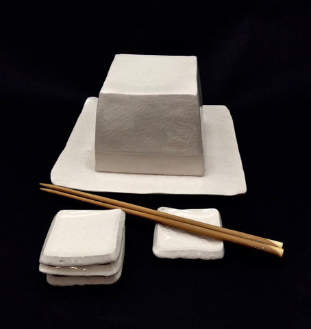 Shin Murata Contemporary Caviar Serving Set | Japanese Ceramics
