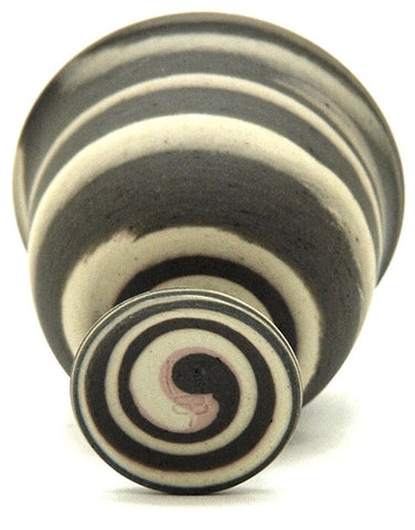 Japanese Neriage Ware | Wheel and Hand formed Stoneware | Guinomi | Contemporary