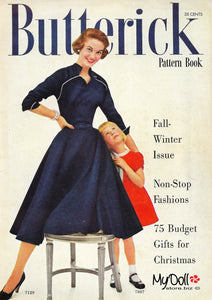 1954 Butterick Pattern Book Fall/Winter Quarterly
