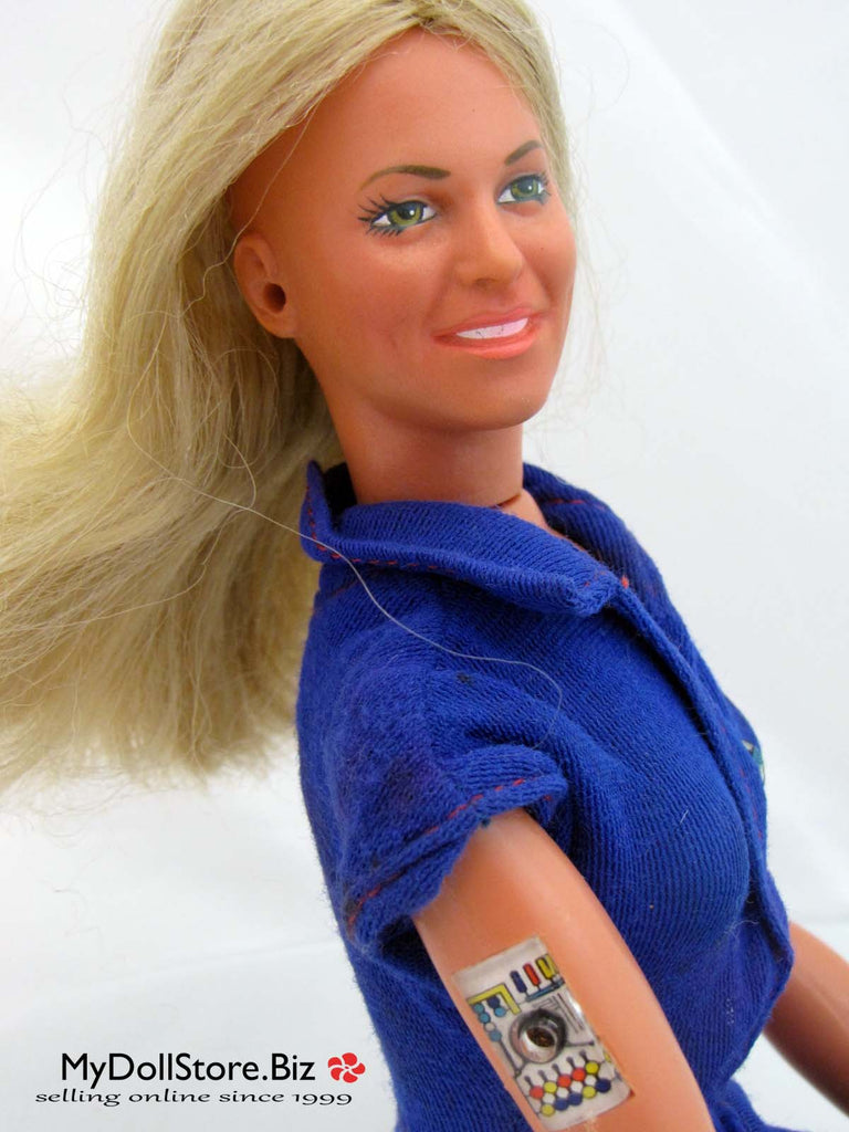 Kenner Bionic Man and Bionic Woman Dolls