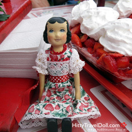 Doll Show and Strawberry Festival