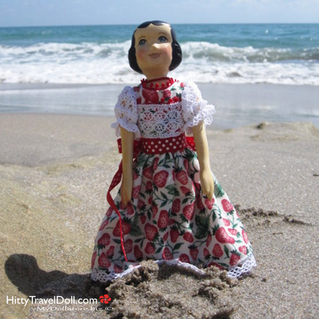 A Doll Show and Fun at the Beach