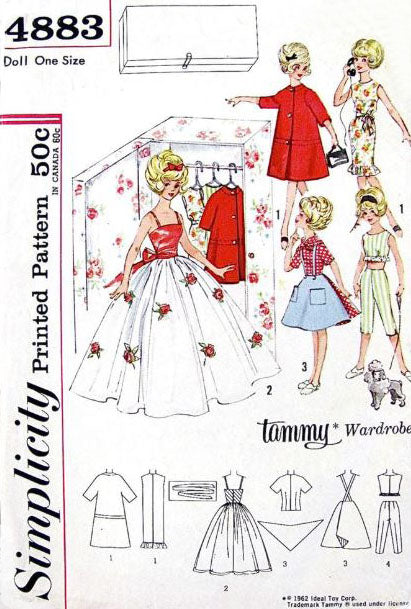 Collecting Doll Clothes Patterns
