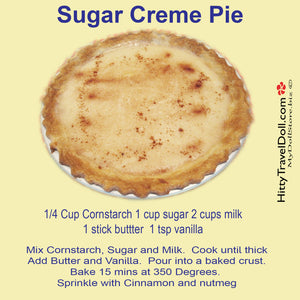 Sugar Creme Pie! Happy PI Day