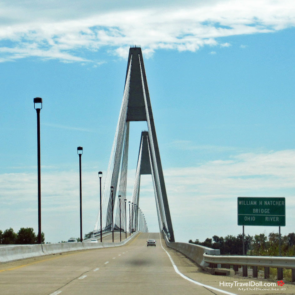 On the Road The William H Natcher Bridge