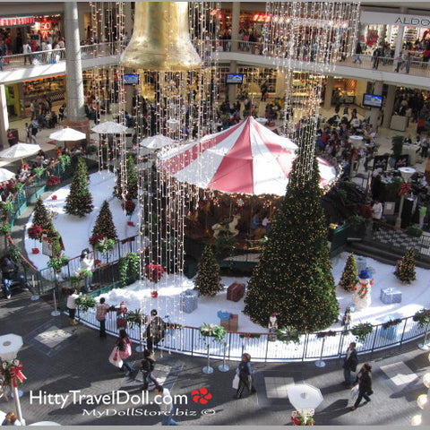 Galleria Mall at Christmas