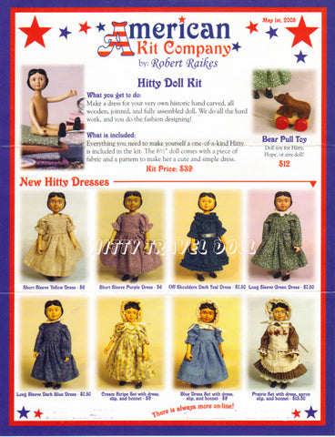 2005 American Kit Doll Brochure