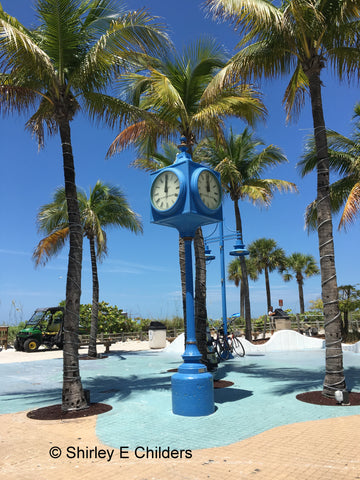 Times Square Fort Myers Beach ©Shirley E Childers