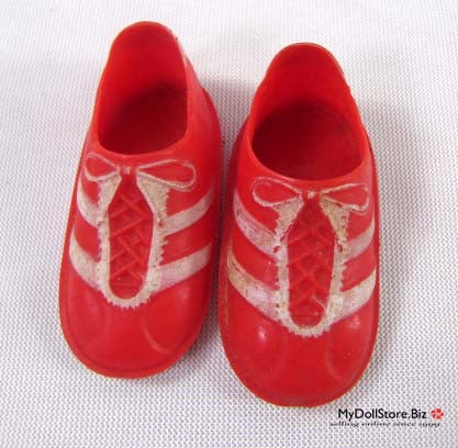 Six Million Dollar Man Red Shoes