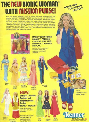 Kenner Bionic Woman Ad