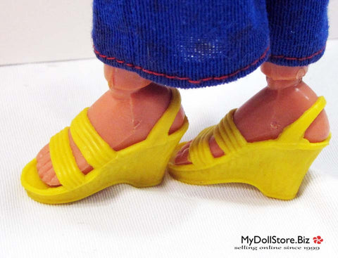 Bionic Woman Yellow Shoes