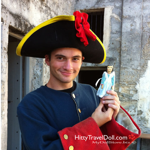 Hitty at Castillo de San Marcos St Augustine