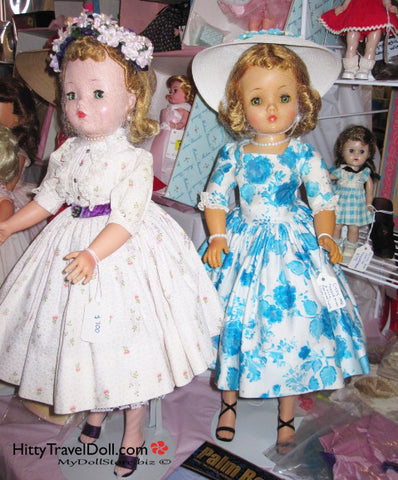 Madame Alexander Cissy Dolls at the Doll Show