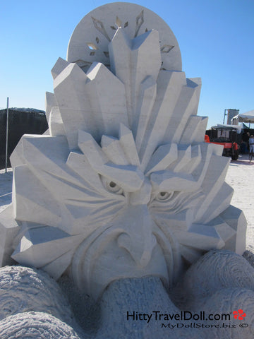 Sand Sculpting on Fort Myers Beach