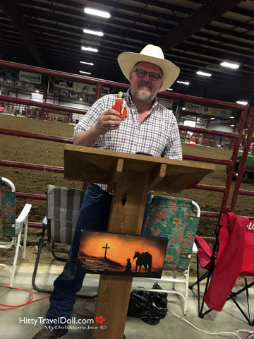 Cowboy Church Pastor with Hitty